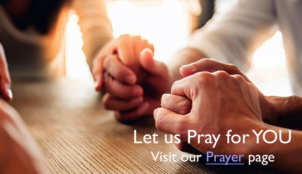 Let us Pray for You